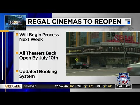 Regal Cinemas Reopening