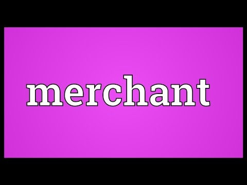 Merchant Meaning