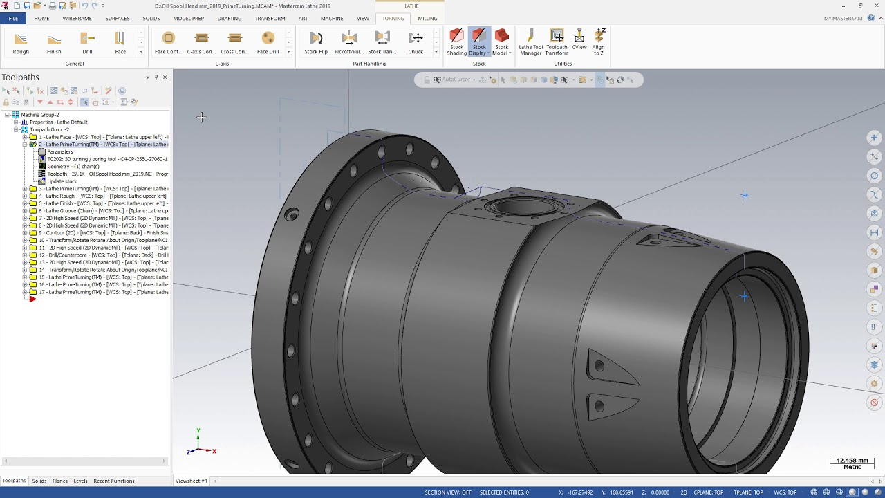 What's New in Mastercam 2019: Sandvik Coromant PrimeTurning™