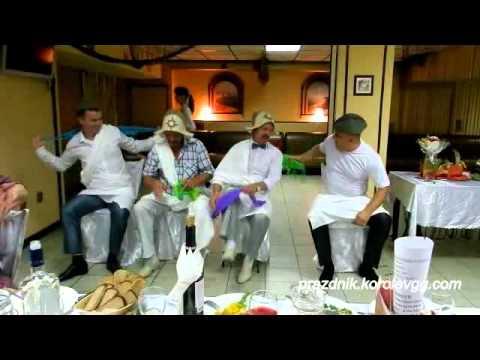 Веселые конкурсы на юбилей 55 лет женщине за столом