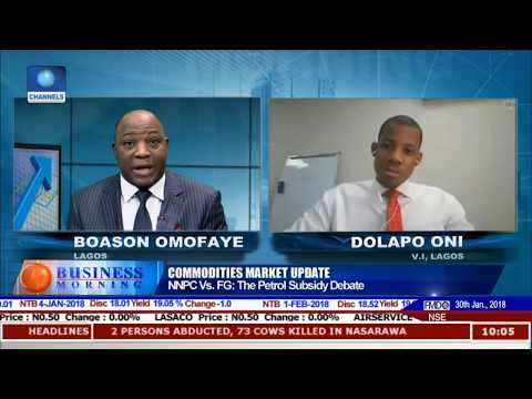 The Petrol Subsidy Debate Between NNPC,FG Pt.1 |Business Morning|
