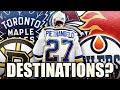 Alex Pietrangelo Destinations: Toronto Maple Leafs, Boston Bruins, Avalanche, Flames, Oilers? NHL