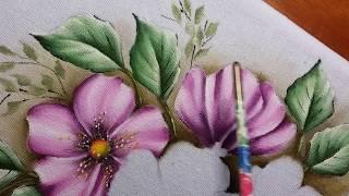 Flores do Campo – Pintura em tecido