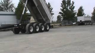 Sold! Beall Hydraulic Pup Dump Truck Trailer 17' Box Aluminum bidadoo.com