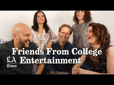 KeeganMichael Key, Cobie Smulders And The Cast Of 'Friends From  Los Angeles Times