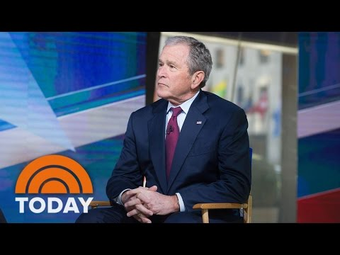 George W. Bush On President Trump, Putin, Religious Freedom, Immigration (Exclusive) | TODAY