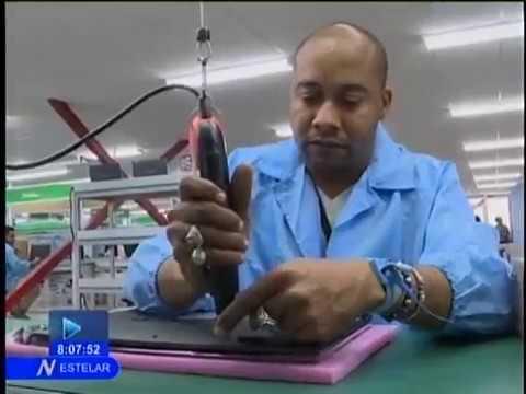 Inauguran en Cuba fábrica de computadoras y tablets