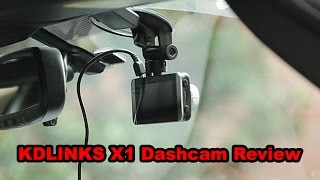 KDLINKS X1 Dashcam Review