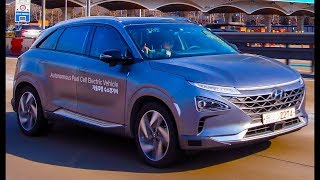 2019 Hyundai NEXO Autonomous Test Drive at the 2018 PyeongChang Winter Olympics