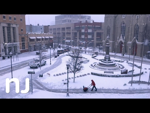 Time-lapse captures snow covering New Brunswick