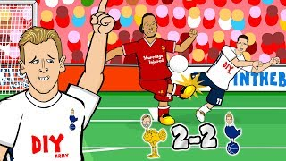 Download Video 😧CONTROVERSY! LIVERPOOL 2-2 SPURS!😧(Parody Goals Highlights Penalty Jon Moss Linesman Salah Kane) MP3 3GP MP4