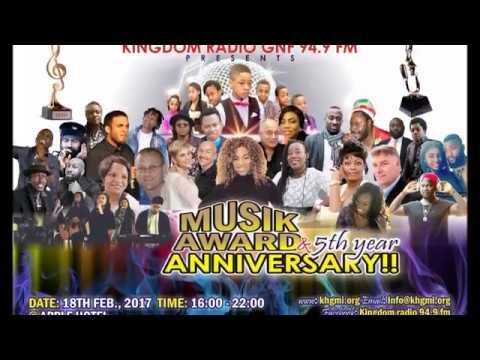 KINGDOM RADIO MUSIK AWARD 2017