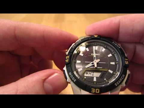 Casio AQS800WD-1EV analog-digital watch review