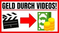 Geld Verdienen Durch VIDEOS SCHAUEN 2019! (Mit Paypal)