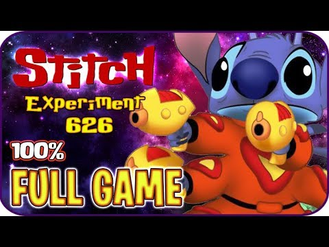Disney's Stitch: Experiment 626 FULL GAME 100% Longplay (PS2)