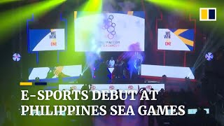E-sports debuts at the 2019 Southeast Asian Games in the Philippines