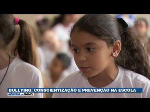 Crianças são conscientizadas para não praticarem bullying