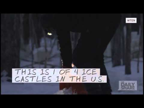 'Frozen' IRL: A real ice castle in the U.S.