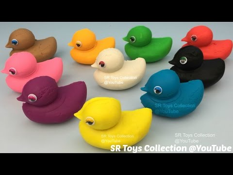 Thumbnail: Learn to Count Numbers 1 to 9 with Play Doh Ducks Fun and Creative for Kids