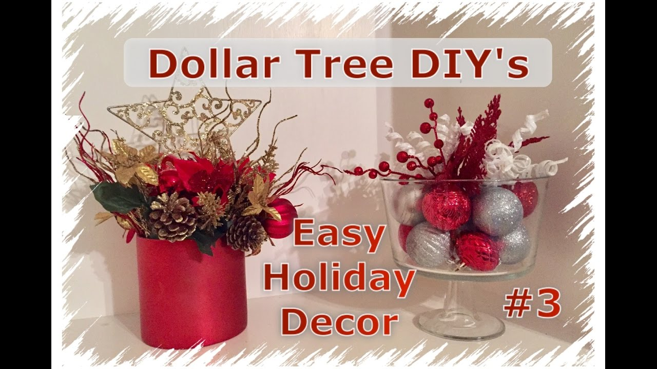 Diy Dollar Tree Christmas Decor Momma From Scratch Youtube
