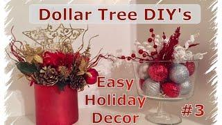 DIY Dollar Tree Christmas Decor   Momma From Scratch
