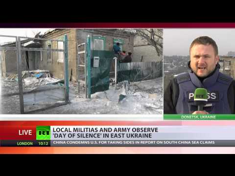 'Day of Silence': Ukraine observes truce between militias & army