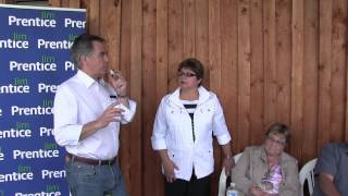 Jim Prentice addresses - How He Handled His  Gov Expenses