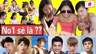 #2 Người Nhật sẽ chọn ai là Ca sĩ Việt Nam điển trai nhất!?