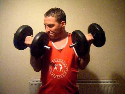 Conor Burns vs Paddy Barnes Training Montage