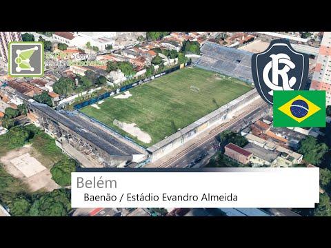 Baenão / Estádio Evandro Almeida | Paysandu Sport Club | Google Earth | 2014