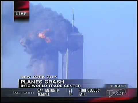 9/11 News Coverage - Texas Cable News TXCN September 11, 2001 9.00am - 9.15am