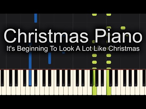 It's Beginning To Look A Lot Like Christmas Michael Bublé Piano Cover