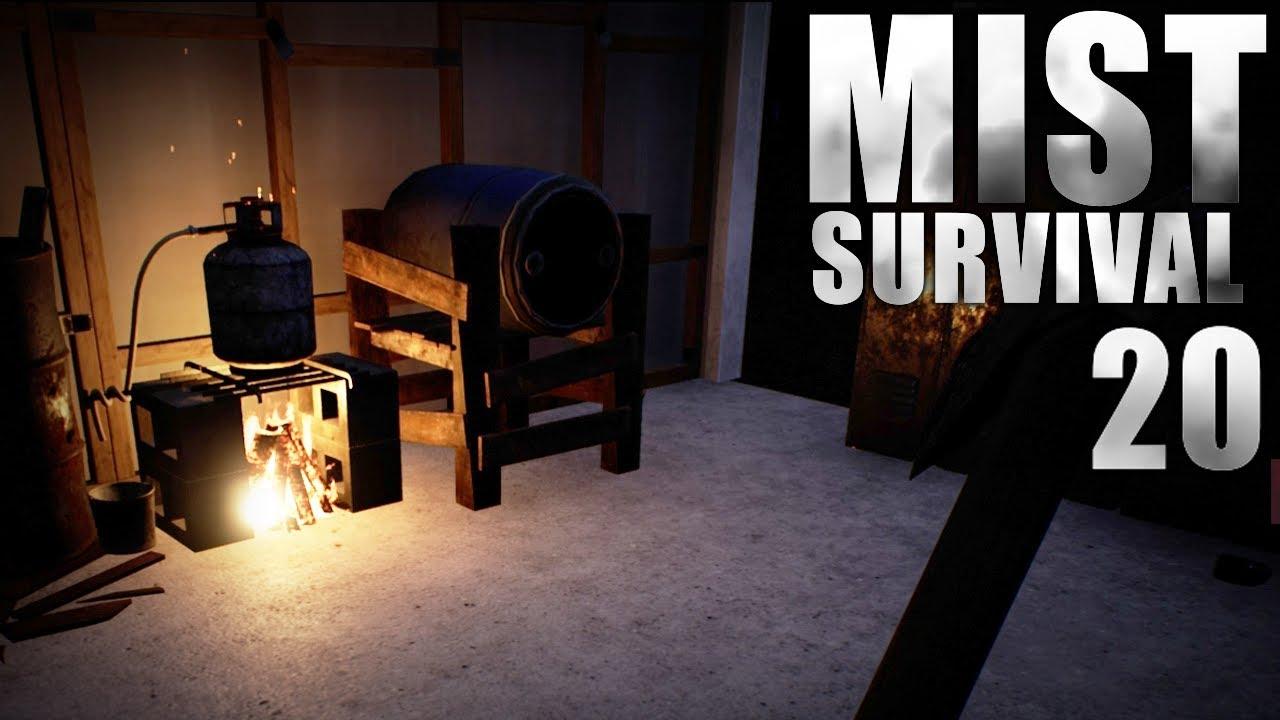 mist survival wir richten unsere garage ein let s play mist survival 20