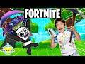RYAN PLAYS FORTNITE VS COMBO PANDA! Let's Play Fortnite Battle Royale