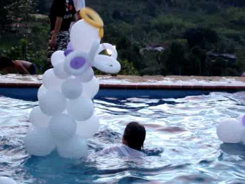 Tirada a la youtube for En la piscina