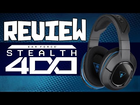 Review - Turtle Beach Ear Force Stealth 400 [PS3,PS4,PC]