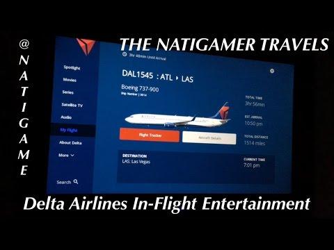 Delta Airlines In-Flight Entertainment w/ 737-800, 767-300ER, 737-900ER & Delta Studio via WiFI