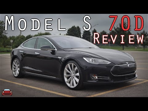 2015 Tesla Model S 70d Review Youtube