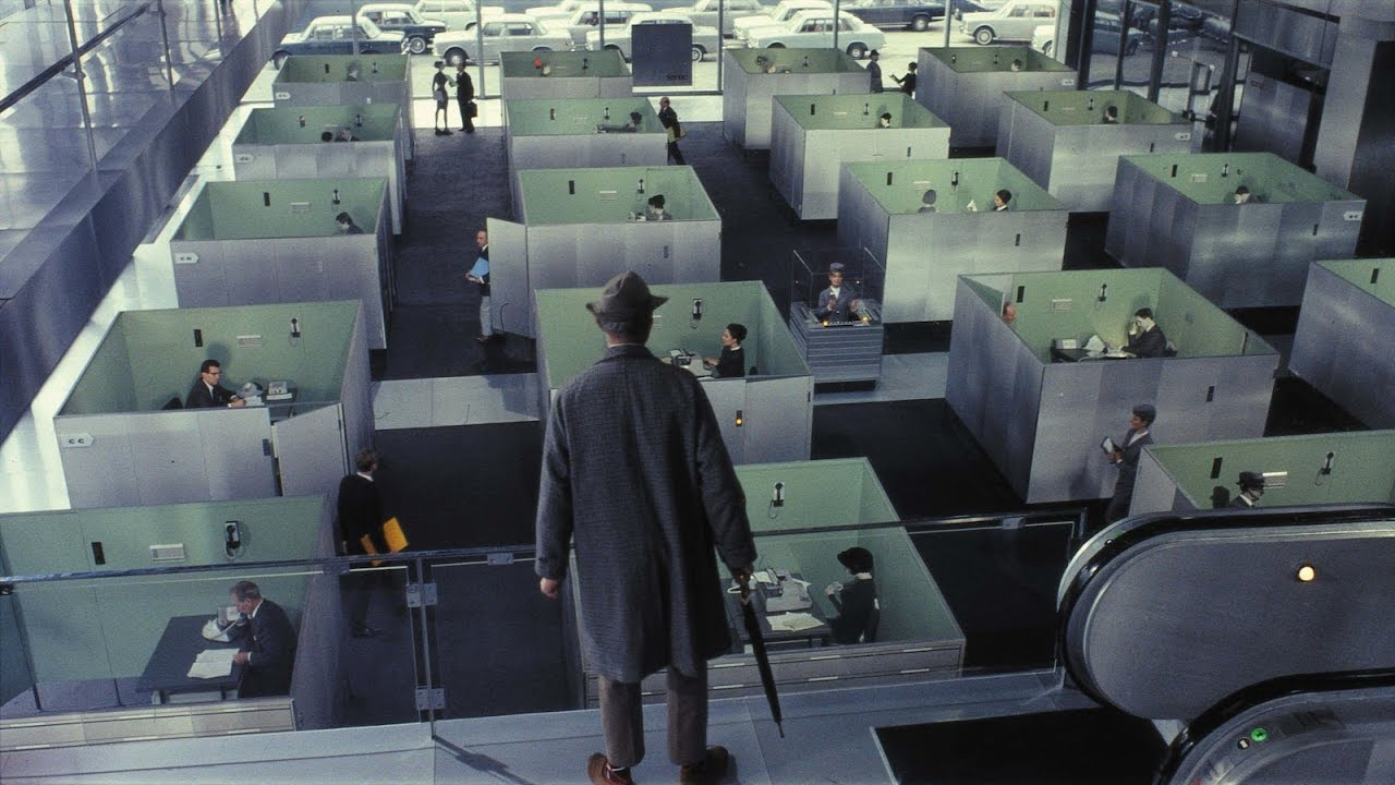 Jacques Tati- Where to Find Visual Comedy