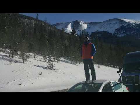 Avalanche closes i70 in Colorado!