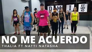 NO ME ACUERDO by Thalia ft Natti Natasha | Zumba® | Latin Pop | Kramer Pastrana