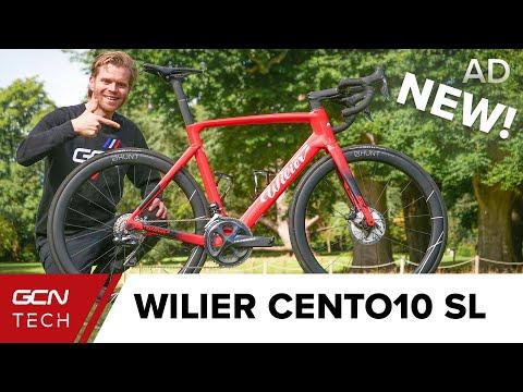 New Wilier Cento10 SL Aero Bike | Ollie's Epic Coast To Coast Bike