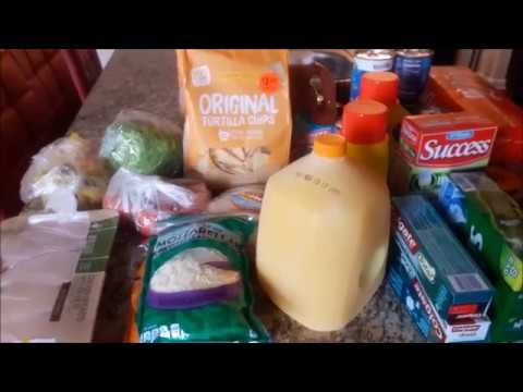Kroger Fill- In Grocery Haul + Some Buy 4 Save $4 Mega Event Items including FREE Toothpaste