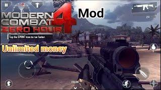 Mod Modern Combat 4 Zero Hour (unlimited Money) Free Download