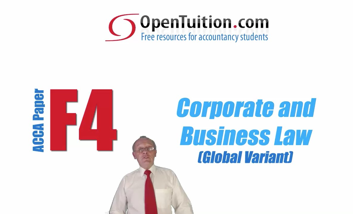 acca f4 law notes 2 Bpp learning media gives you the to use revisi on materials reviewed by the acca examination team acca lsbf video lectures free download acca f4 - corp and business law (glo) revision kit 2018 - exam preparation & tutoring - quran kareem,free acca books download pdf as well free acca study materails,free acca books pdf.