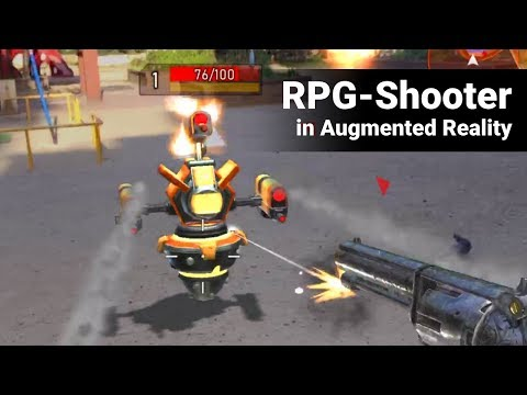 Rifters AR - AR Shooter RPG Multiplayer Game   Part 1