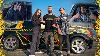 Drift Taxi - იკა ნათია / ikanatia - დრიფტ რეაქციები
