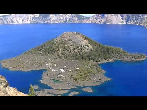 Deepest Lake In America Crater Lake Oregon HD