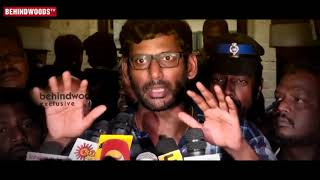 TamilRockers or TamilGun ADMIN ARRESTED Actor Vishal Speech
