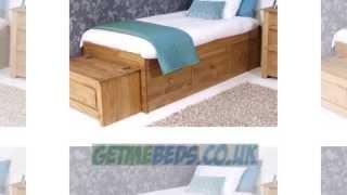 Amalfi Pine Cabin Bed